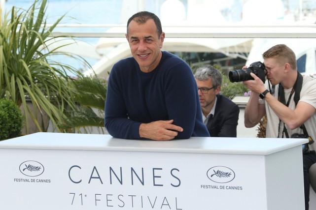 Le réalisateur italien Matteo Garrone a frappé un... (Photo AP)