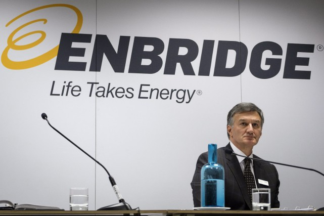 Le chef de la direction d'Enbridge, Al Monaco,... (Photo Jeff McIntosh, La Presse canadienne)
