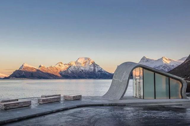 La plus belle toilette publique du monde est-elle... (PHOTO FOURNIE PAR HAUGEN/ZOHAR ARKITEKTER)