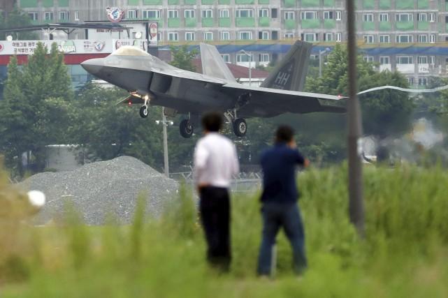 La Corée du Nord proteste contre l'exercice annuelMax... (PHOTO AP)