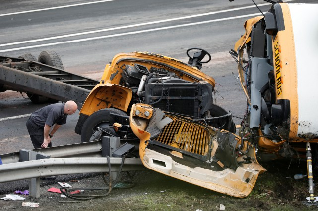 On ignore pour l'instant les causes de l'accident.... (PHOTO REUTERS)