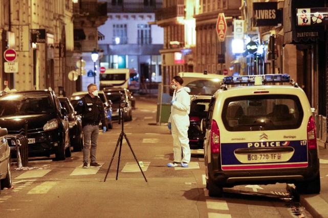 L'attentat de samedi a eu lieu dans le... (PHOTO AFP)