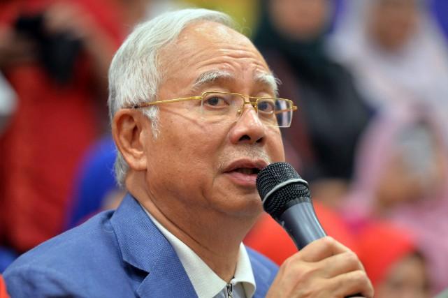 Najib Razak a été premier ministre de la... (PHOTO AP)