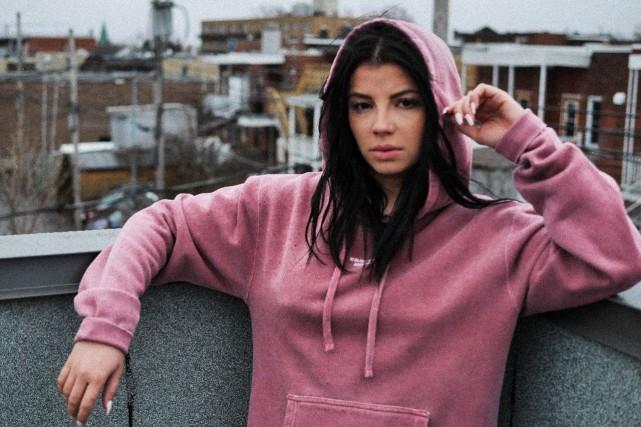 Fondée en2013, la marque montréalaise Bonvilain se spécialise en vêtements... (Photo Camille Blackburn)