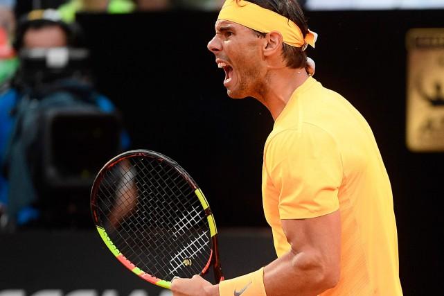 Rafael Nadal triomphe pour la huitième fois à Rome