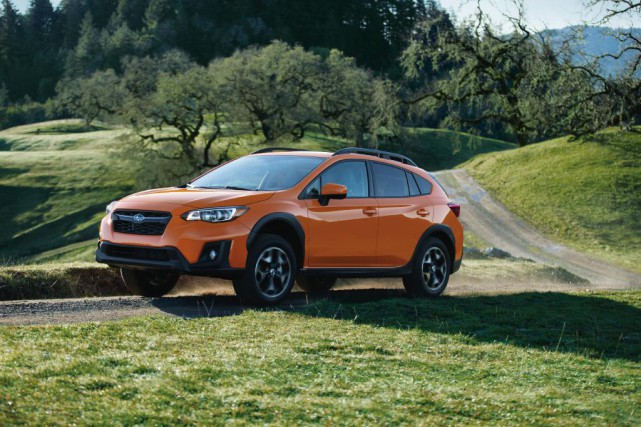 Subaru Crosstrek Premium 2018.... (Photo fournie par Subaru)