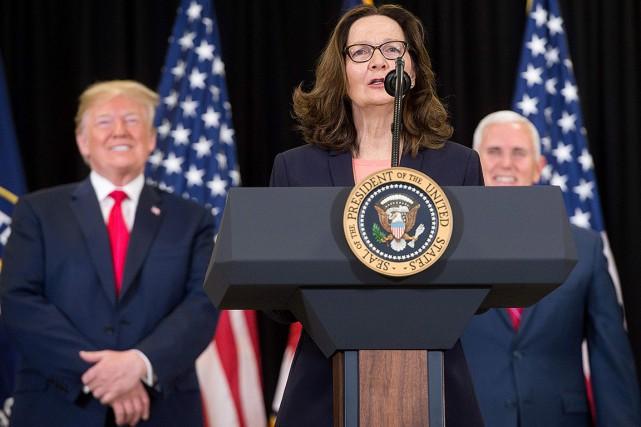 Gina Haspel devient la première femme à diriger la CIA