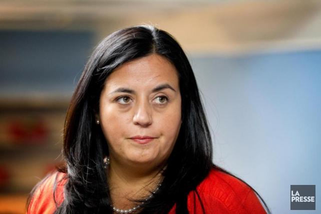 SorayaMartinezFerrada, ancienne conseillère principale de la ministre Mélanie... (PHOTO MARCO CAMPANOZZI, ARCHIVES LA PRESSE)