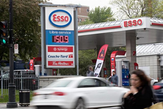 Le litre d'essence à 1,50$ fait aussi des... (Photo Patrick Sanfaçon, La Presse)