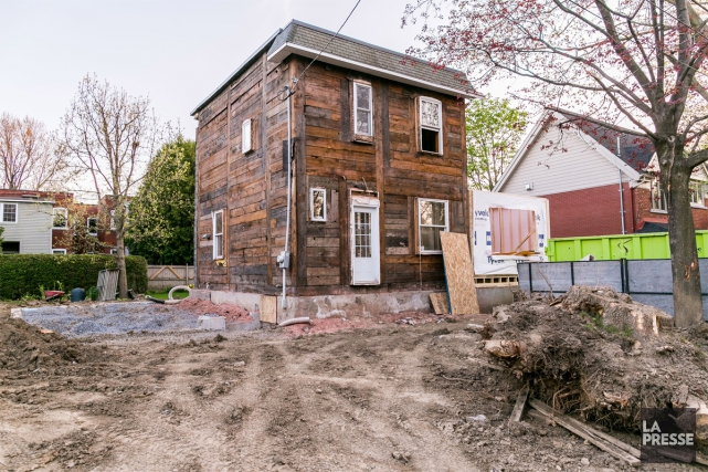 Cette résidence de Saint-Lambert a été complètement mise... (Photo Martin Tremblay, La Presse)