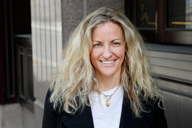 L'auteure Joanna Goodman connaît bien le Québec, où... (Photo Robert Skinner, La Presse)