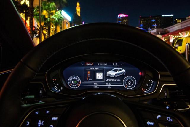 Le système Traffic Light Information d'Audi of America... (Photo Audi)