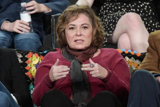 La comédienne Roseanne Barr a perdu le téléroman... (ARCHIVES AP)
