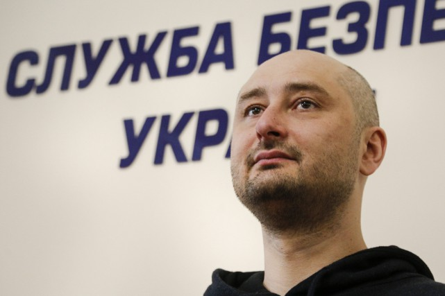 Le journaliste Arkadi Babtchenko.... (PHOTO AP)