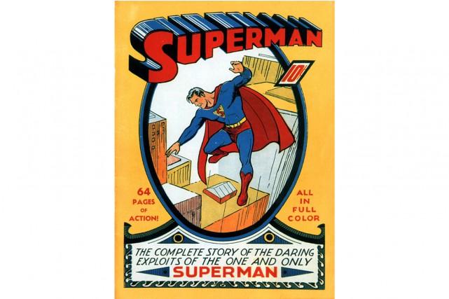 «It's a bird... It's a plane... No, it's Superman!». 80 ans après sa... (Photo archives AP)