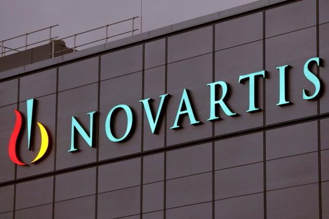 Le géant pharmaceutique suisse Novartis a finalisé la cession de ses parts dans... (PHOTO REUTERS)