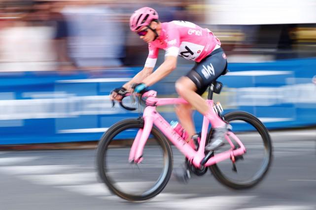 La monture de Chris Froome, vainqueur également de... (Photo Alessandro Garofalo, Reuters)