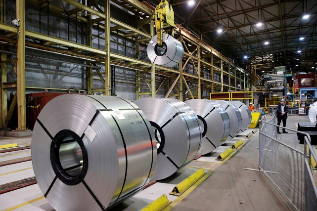 Les taxes punitives américaines sur l'acier et l'aluminium... (PHOTO MARK BLINCH, ARCHIVES REUTERS)