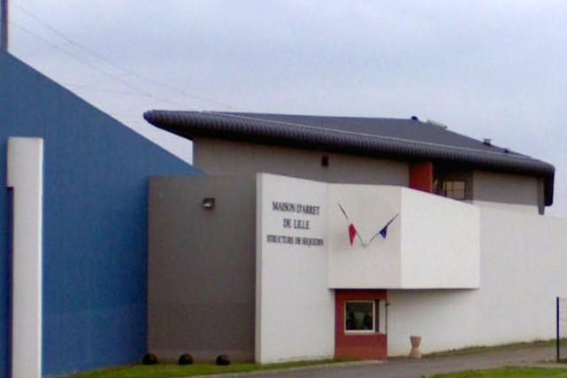La prison de Sequedin, dans le nord de... (IMAGE TIRÉE DE GOOGLE STREET VIEW)