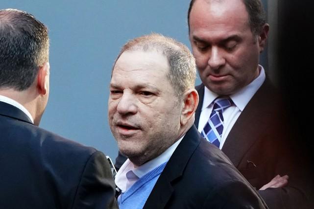 Harvey Weinstein a été inculpé pour un viol... (PHOTO DON EMMERT, ARCHIVES AGENCE FRANCE-PRESSE)