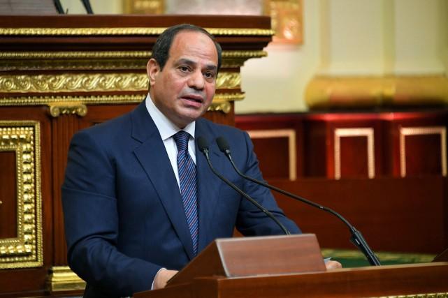 Abdel Fattah al-Sissi... (Photo Associated Press)