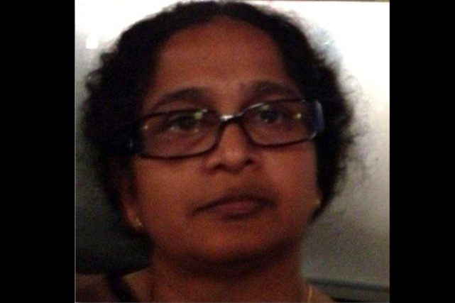 Le SPVM précise queMohanarani Rajaduraisouffre de problème mental... (PHOTO FOURNIE PAR LA POLICE)