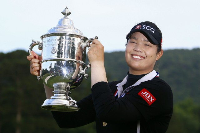 Ariya Jutanugarn... (PHOTO AP)