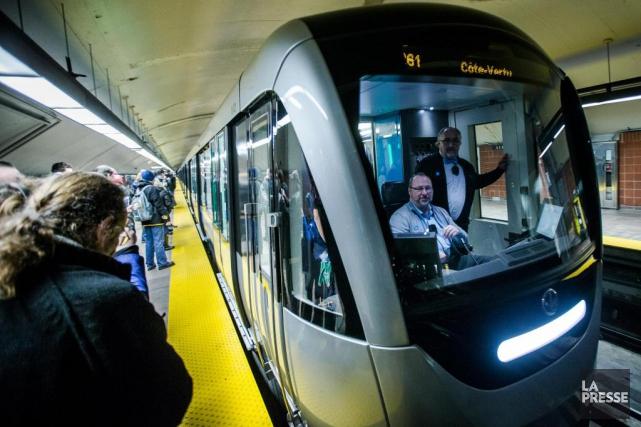 La STM pourraitacquérir 17 trains additionnels de voitures... (PHOTO OLIVIER PONTBRIAND, ARCHIVES LA PRESSE)