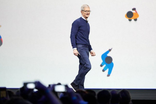 Tim Cook, PDG d'Apple... (Image fournie par Apple)
