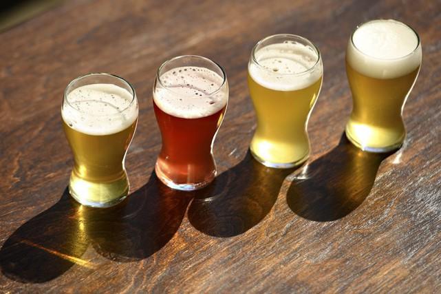 Les microbrasseries québécoises offrent maintenant des bières parfaites... (Photo Bernard Brault, La Presse)