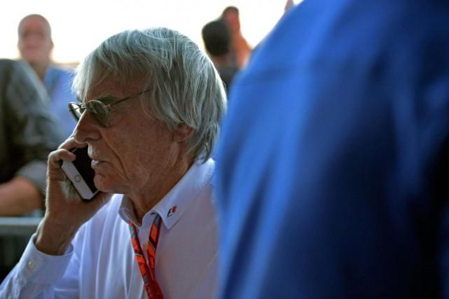 «Bernie dirigeait tout lui-même.», dit François Dumontier, promoteur... (PHOTO AFP)