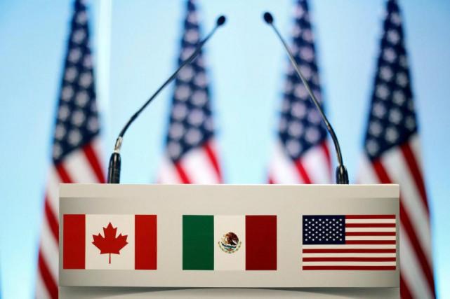 L'abrogation de l'Accord de libre-échange nord-américain (ALENA) pourrait... (Photo Edgard Garrido, archives Reuters)