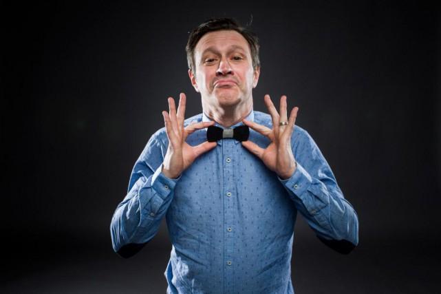 Stéphane Fallu est le porte-parole du Festival d'humour... (Photo Olivier PontBriand, La Presse)