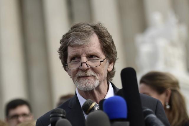 Jack Phillips lors d'un point de presse devant... (ARCHIVES AFP)