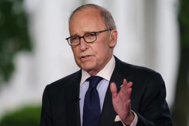 LarryKudlow, principal conseiller économique de la Maison-Blanche, soutient... (ARCHIVES AP)