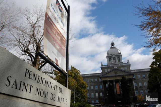 Des élèves du Pensionnat du Saint-Nom-de-Marie ont décrété... (PHOTO FRANÇOIS ROY, ARCHIVES LA PRESSE)