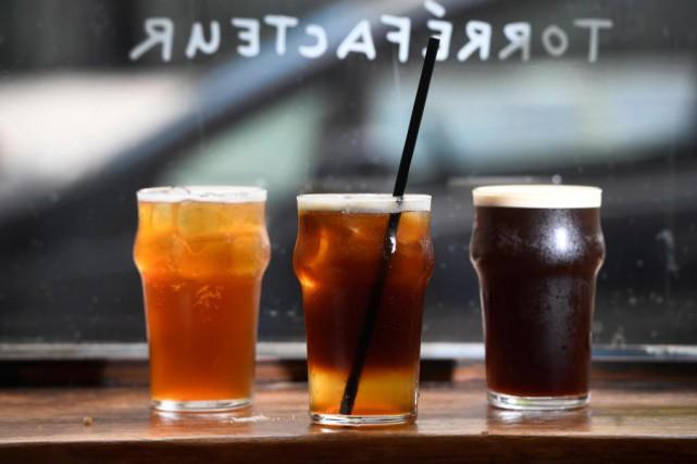 Les trois «vedettes caféinées» du Paquebot:le café limonade,... (Photo Bernard Brault, La Presse)