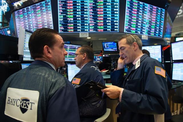 Mercredi, l'indicateur du déficit commercial des États-Unis s'est... (Photo Agence France-Presse)