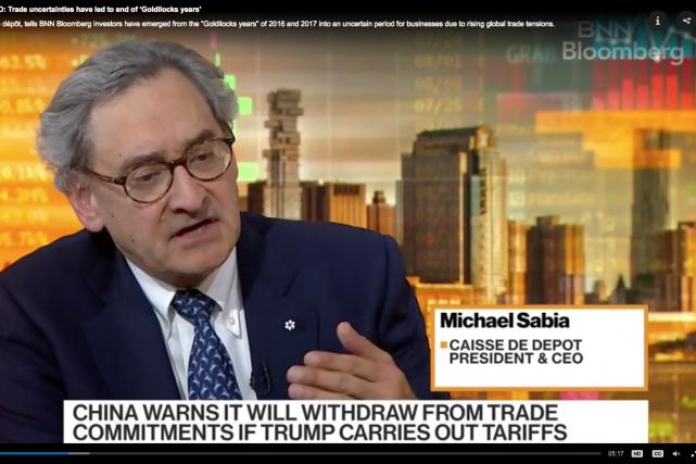 Michael Sabia, PDG de la Caisse de dépôt...