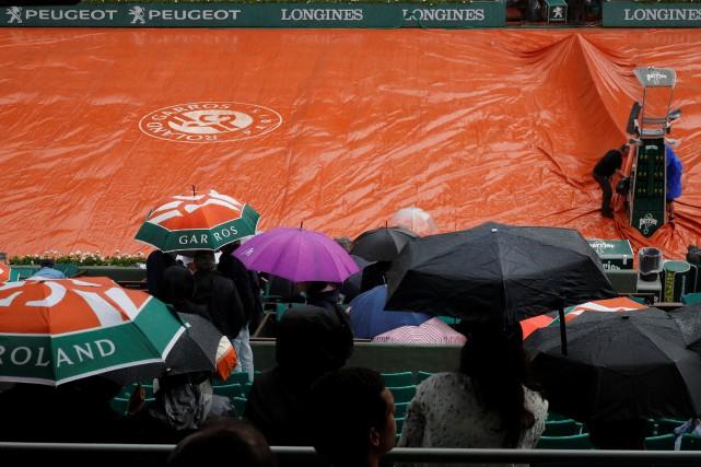 Les deux derniers quarts de finale messieurs de Roland-Garros, dont celui... (Photo Charles Platiau, Reuters)
