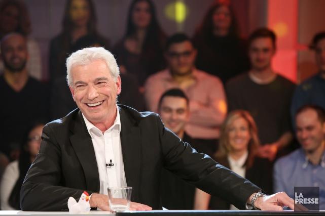 Guy Mongrain animait La poule aux oeufs d'or... (Photo archives La Presse)