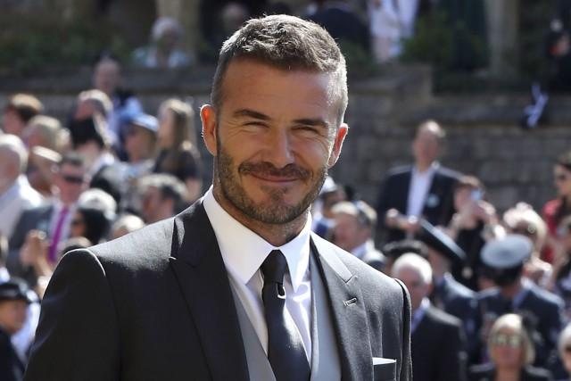 David Beckham... (PHOTO AFP)