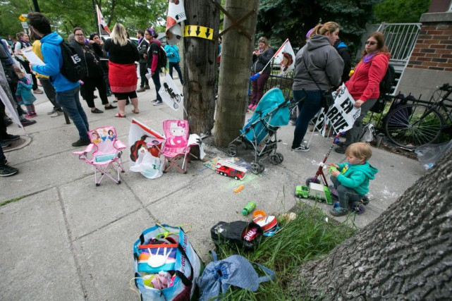 Le CPE Le petit talon, à Montréal, était... (Photo François Roy, La Presse)