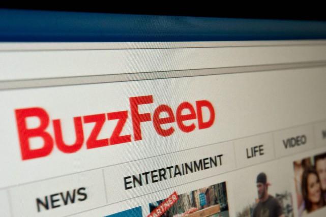 BuzzFeed prévoit de cesser son activité en France... (Photo Agence France-Presse)