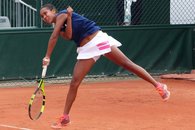 Leylah Annie Fernandez... (Photo fournie par Tennis Canada)