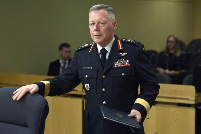 Le général Jonathan Vance... (PHOTO ARCHIVES LA PRESSE CANADIENNE)