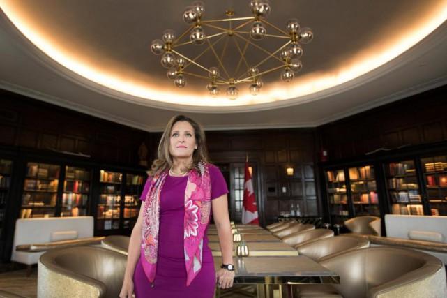 En entrevue avecLa Presse dans un hôtel de... (Photo Ivanoh Demers, La Presse)