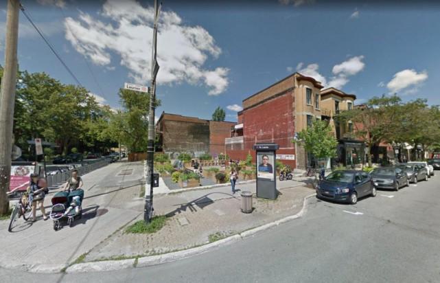 Les futurs propriétaires ont fait l'acquisition du terrain... (photo google street view)