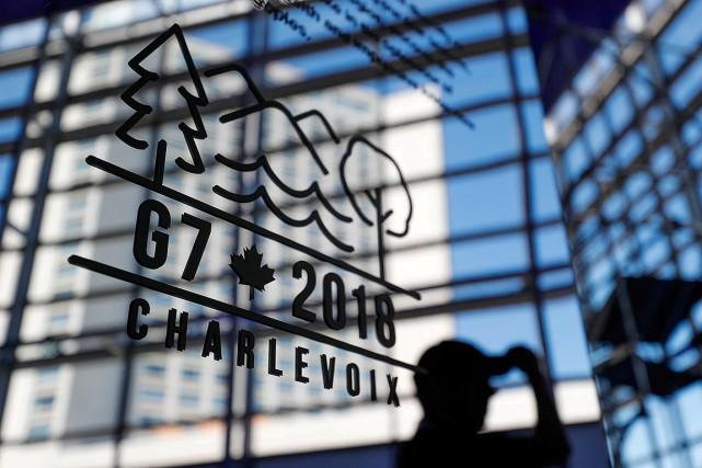 Le sommet du G7 se met en branle... (Yves Herman, REUTERS)