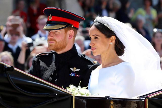 Depuis le mariage du prince Harry et de... (PHOTO LA PRESSE CANADIENNE)